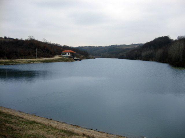 Jezero Duboki potok - Barajevo, mart 2012.