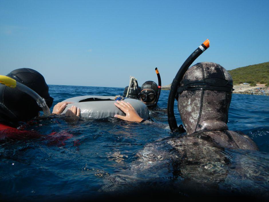 Free diver kurs, Ploče