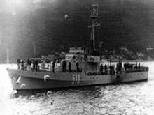 Patrolni brod PBR 512 (Žanjic, Crna Gora)