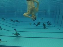 Ronjenje na bazenu Tašmajdan